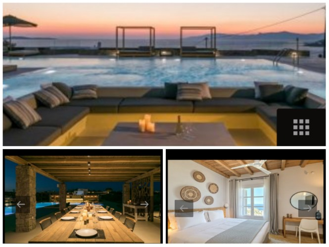 Villa Seduction  Kinglike Mymkonos Villas