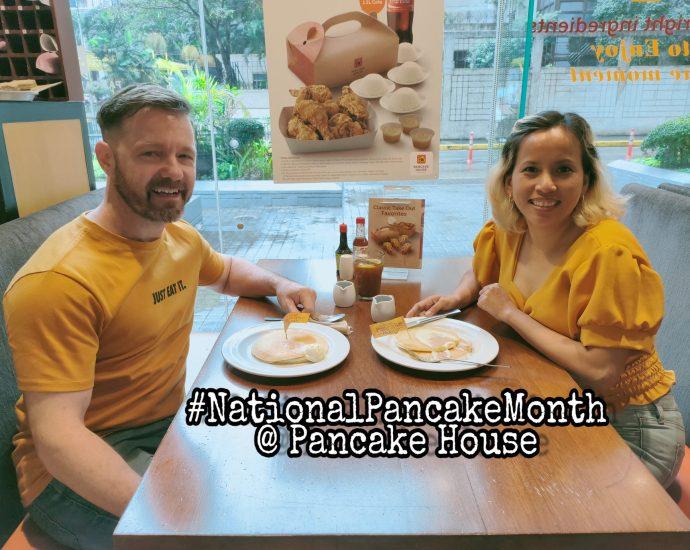 #NationalPancakeMonth at Pancake House