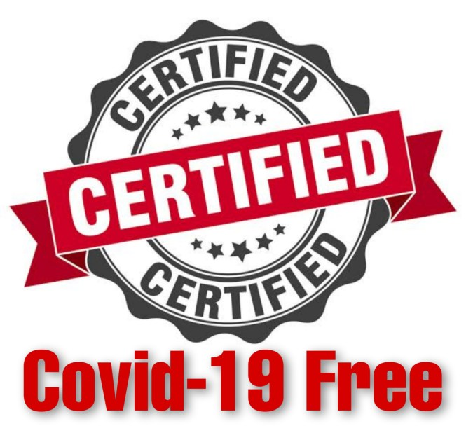 Covid-19 Free Certifications
