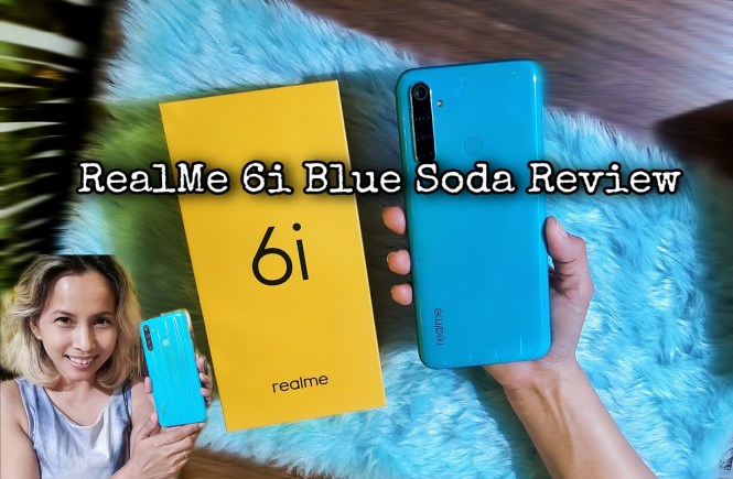 Realme 6i Blue Soda review Philippines