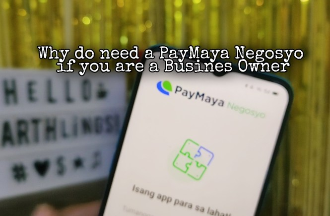 Paymaya Negosyo app for business owners