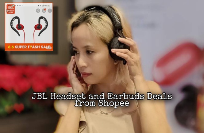 JBL Headset and Earbuds Deals from Shopee