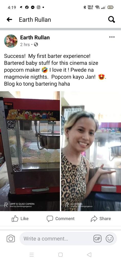Online Bartering in Manila