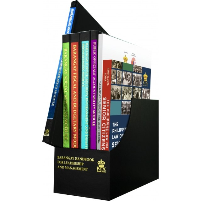Rex bookstore Baranggay Handbook for handling the Pandemic