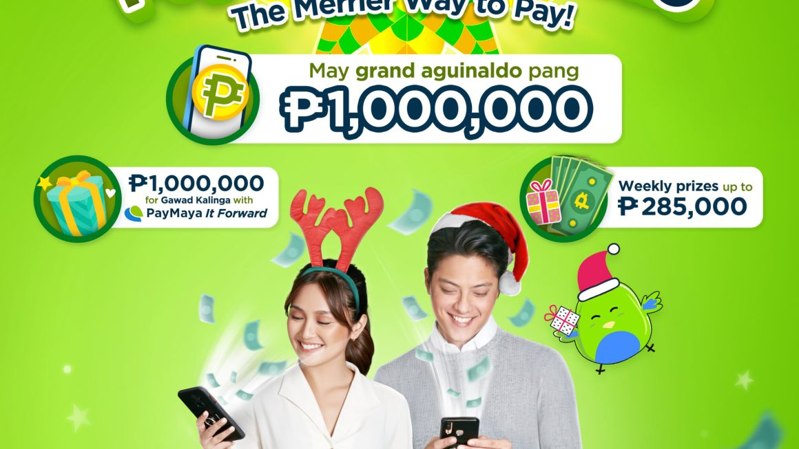 PayMayaguinaldo and the Easy way to Win 1 Million by Giving and Receiving this Christmas