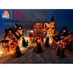 Christmas Village Christmas Decorations