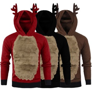 Ugly Christmas Sweater Hoody Christmas Decorations