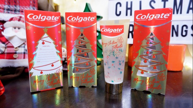 Colgate Merry Christmas Toothpaste