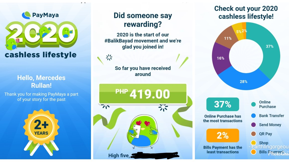 Want a Glimpse of your 2020 Cashless Lifestyle Report with PayMaya