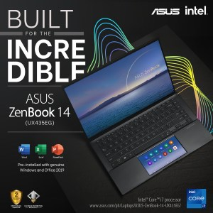 laptop built for the incredible