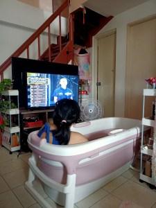 IKEA Creative home improvements foldable bathtub