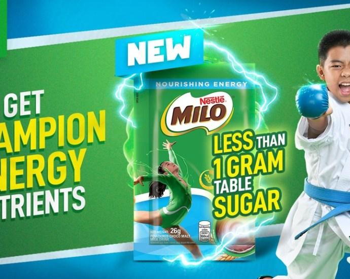 MILO® Less Than 1Gram Table Sugar