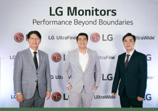 LG premium monitor line