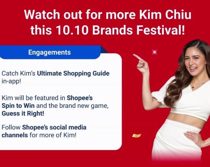Kim Chiu Shopee