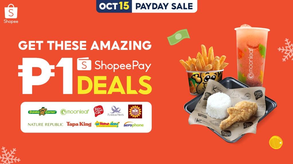 ShopeePay 1 peso deal
