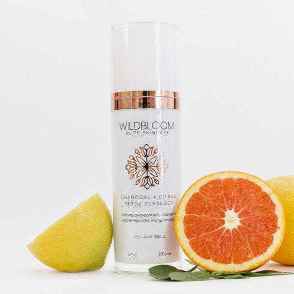 Charcoal + Citrus Face Cleanser
