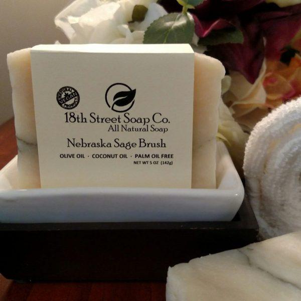 Nebraska Sage Brush Soap