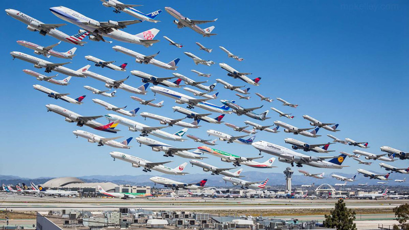 eight-hour-of-takeoffs-at-lax-composite-by-mike-kelley