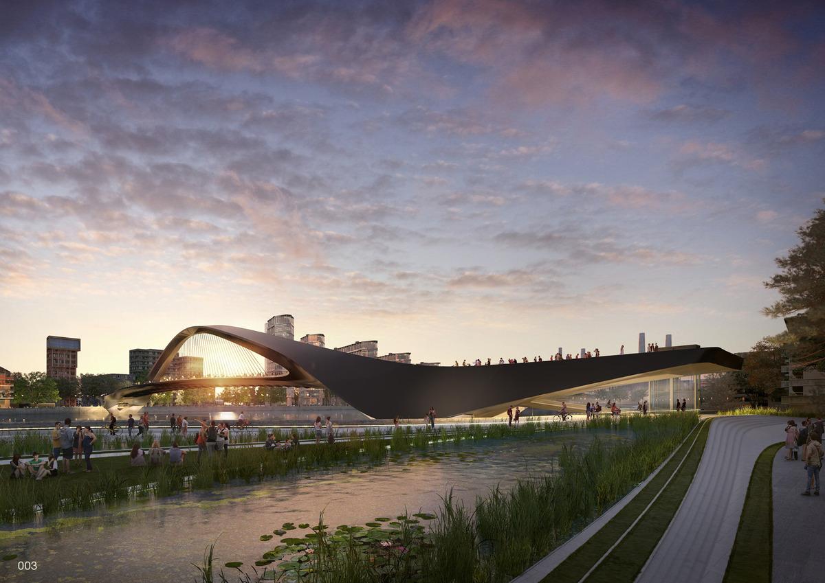 star wars 9 Unusual Designs for New Thames Bridge in London   Earthly ...