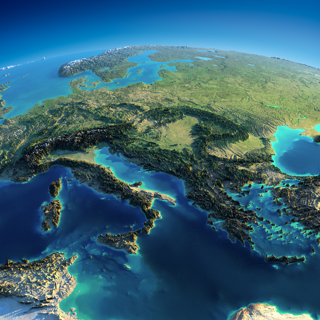 Fascinating Relief Maps Show The World S Geography