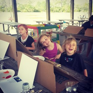 Homeschool Art in the Park