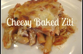 Cheesy Baked Ziti
