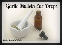 Garlic Mullein Ear Drops