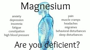 Magnesium:  Are you deficient?