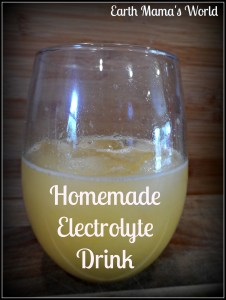 Homemade Electrolyte Drink For Kids