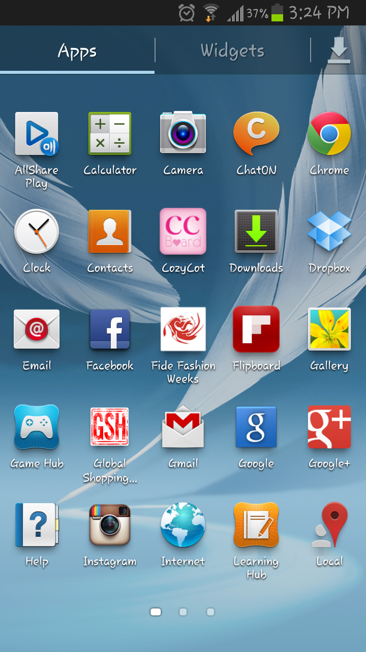 Android Phone Home Screen Layout Ideas
