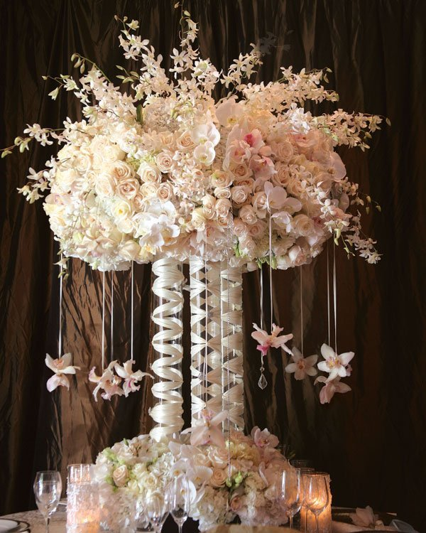 Tall Wedding Centerpieces On A Budget Wedding And Bridal