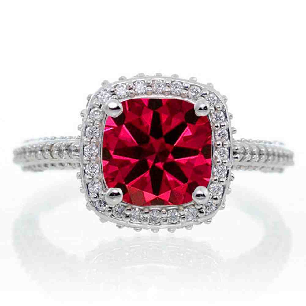 Ruby Engagement Rings Traditional And Trendy Jewels