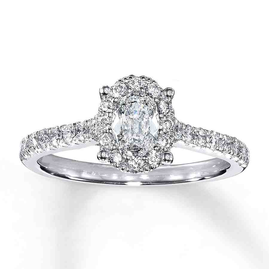 1 Carat Oval Engagement Rings Wedding And Bridal Inspiration