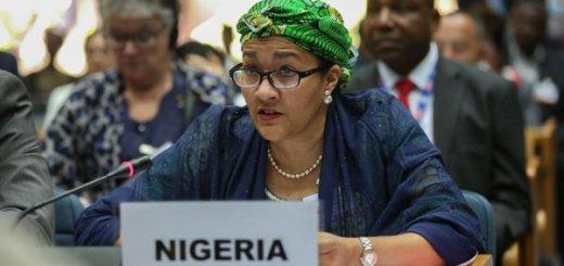 UN Deputy Sec Gen and Former Nigerian Environment Minister, Amina Mohammed, Fingered In $300 Million Illegal Export Fraud (VIDEO)