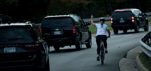 Woman Who Gave the Middle Finger to Trump's Motorcade Fired from Job