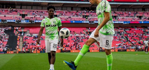 The Witch and the Super Eagles by Leon Balogun