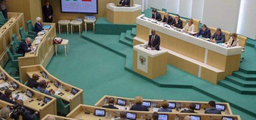 Nigerian Senate President Bukola Saraki Addresses Russian Parliament