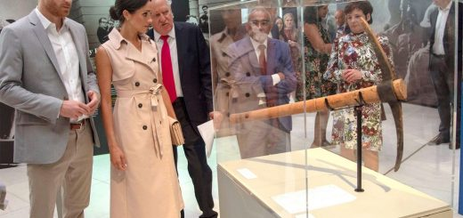 Prince Harry and Meghan Visit Mandela Exhibition in London