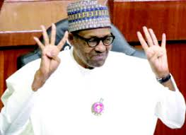 """Buhari """"I fought against corruption in the Nation"""""""