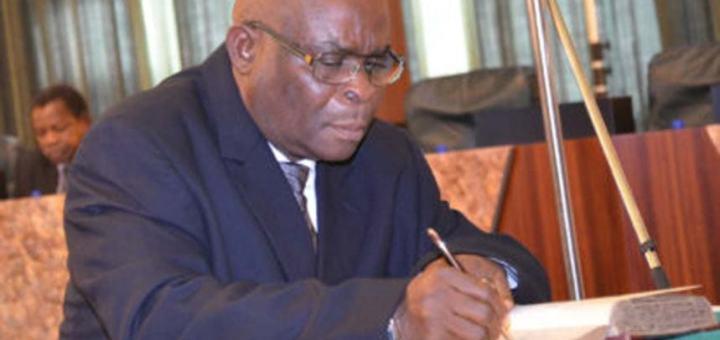 Justice Walter Samuel Onnoghen, the Suspended Chief Justice of Nigeria, CJN Resigns.........