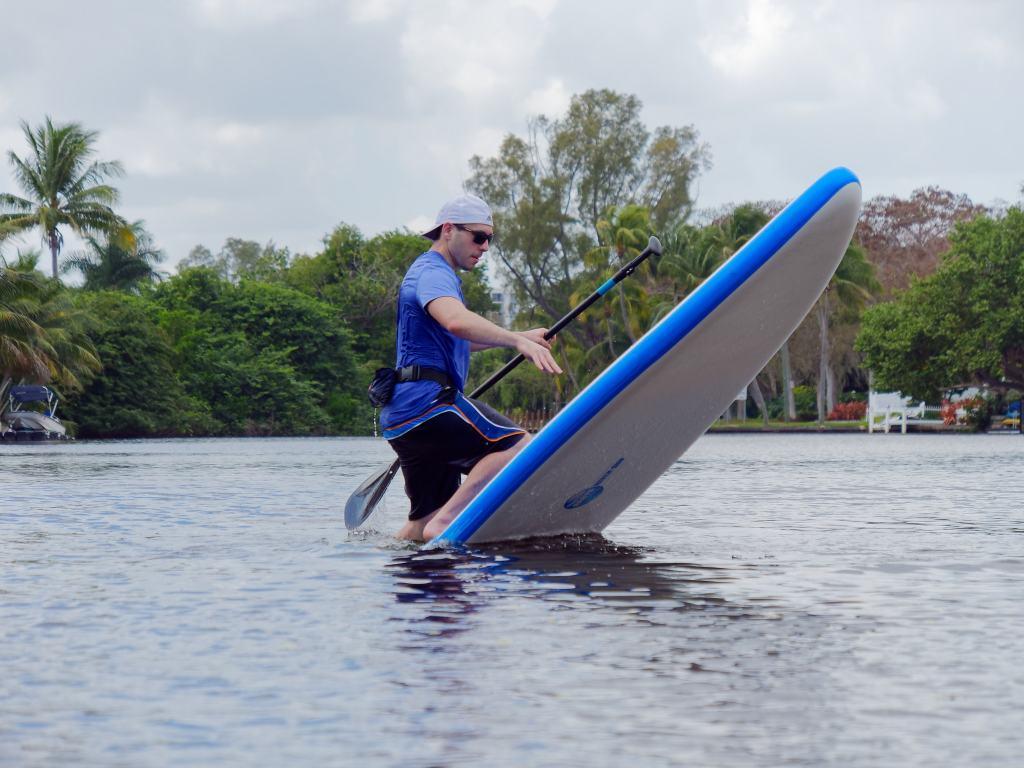 ERS Skylake blue paddle board girl