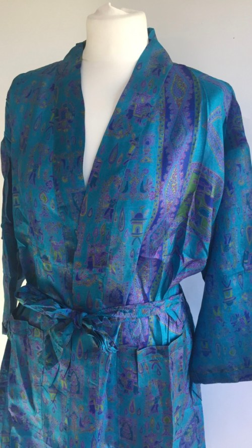 Indian Silk Dressing Gowns