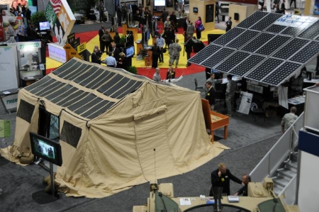 U.S. Army, net-zero energy use