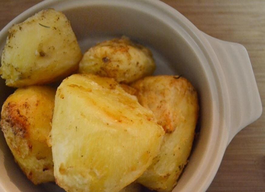 Coconut Oil Roast Potatoes