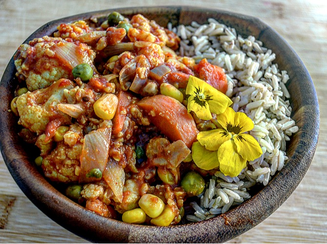 Simple Vegan Curry