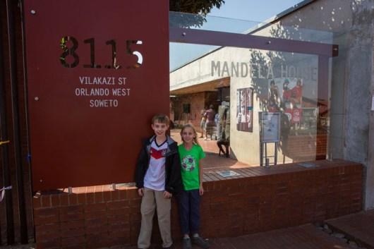 Mandela House Sign