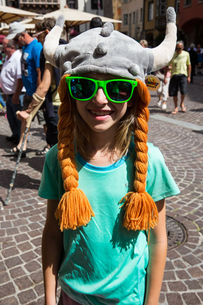 Viking Girl in Austria