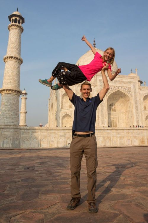 Tim and Kara Taj Mahal