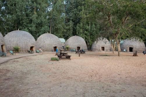 Mlilwane beehive huts