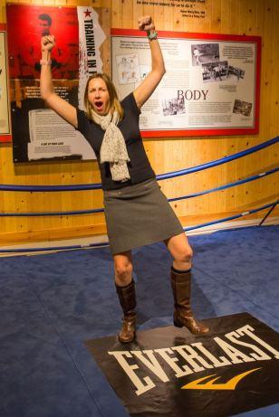 Julie Boxing